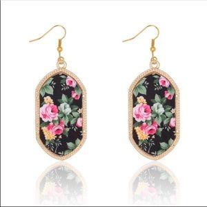 Kendra style printed earrings